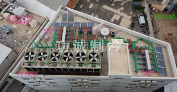 安哥拉钻石酒店原电机冷却塔