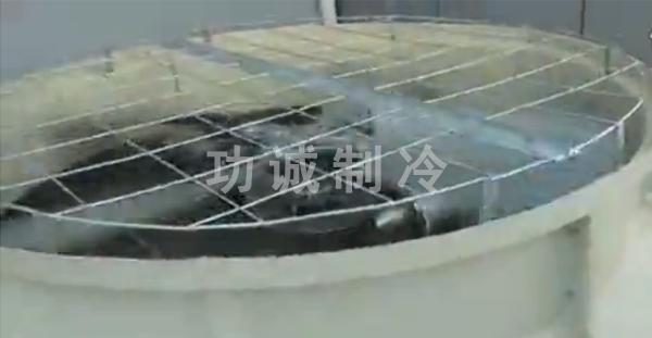 功诚节能水轮机免电冷却塔